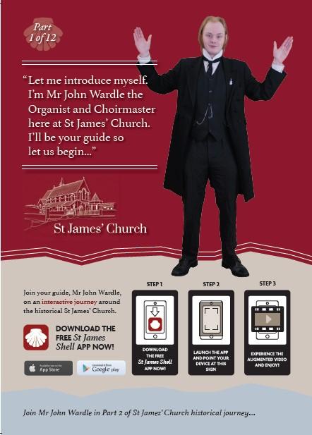 St James The Great, Stonehaven - Smartphone App Opens Doors